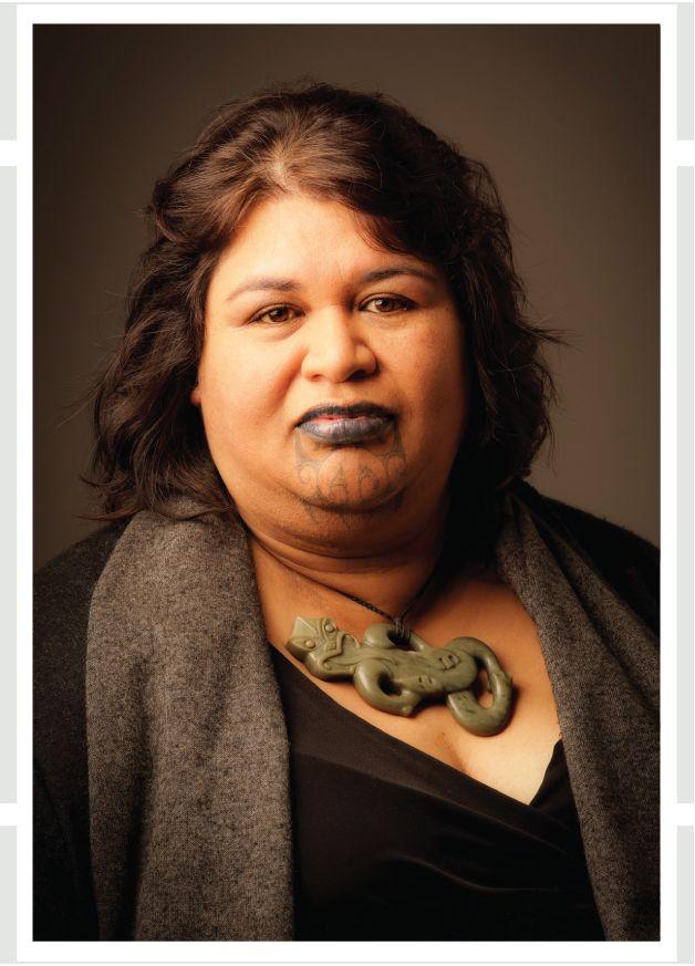 Puamiria Parata-Goodall  Ngāi Tahu, Waitaha, Ngāti Māmoe, Ngāti Kahungunu  Photograph Tony Bridge