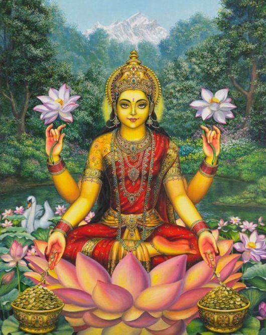 Lakshmi #India #Hindu #Hinduism #Gods #Goddess #Religion #Mythology #puran #Veda…