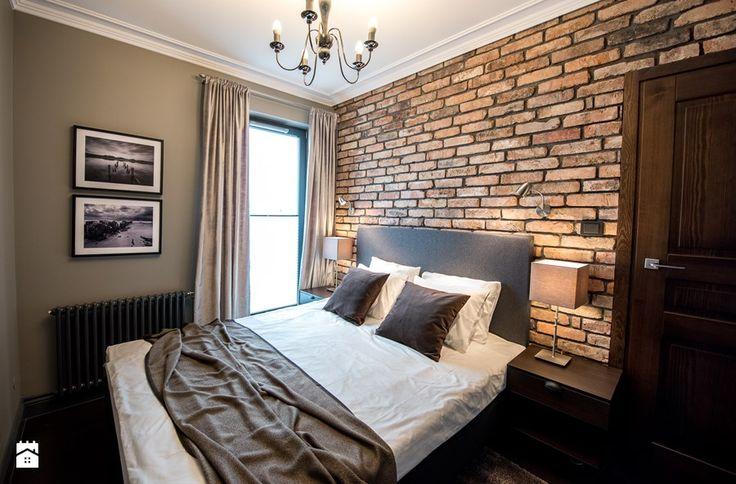 Apartament z widokiem na Wawel - Sypialnia, styl vintage - zdjęcie od AgiDesign