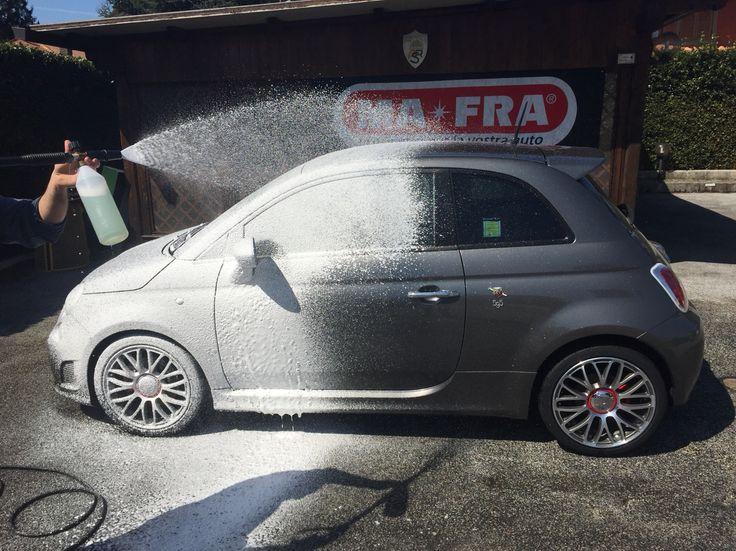 Car Wash Abarth 595