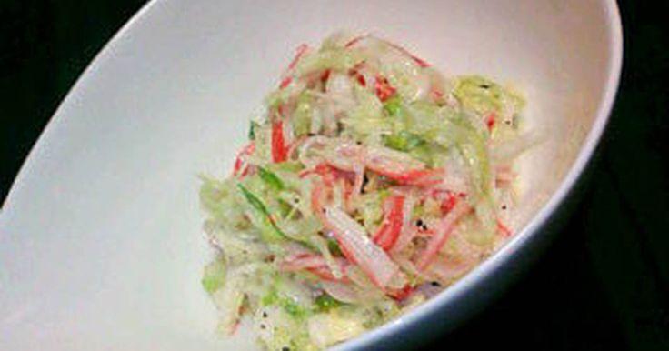 生野菜が少し苦手な私。 でもこれは味見が止まらない、大好きなサラダです。 ☆話題入り有難うございます☆