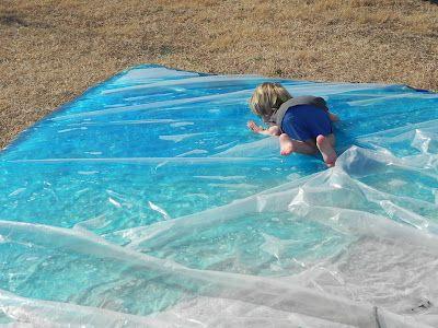 Giant outdoor water bag!
