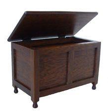 1/12 scale Dolls House Kit Furniture   Blanket box    Mc02