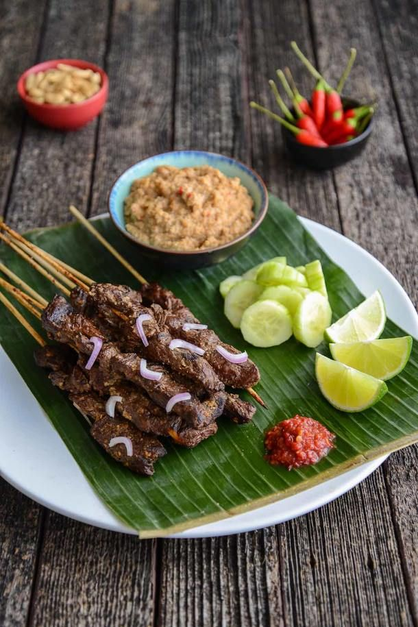 Expectations and Kangaroo Satays with Spicy Peanut Sauce (The Hungry Australian)