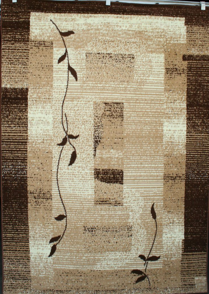 Discount Rugs | Cheap Area Rug | Flower Rug 8x10| Rug Sales Brown 8x10 Rugs