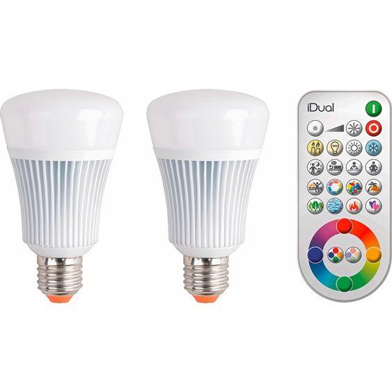 Elegant iDual LED Leuchtmittel EEK A E W er Pack