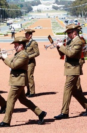 Canberra: Remembrance Day at the Australian War Memorial. 11 November 2016.
