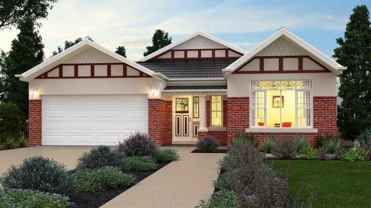 Premier Builders Group - The Esprit California Bungalow Facade