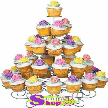 Stand porta cupcakes  Capacidad 41 cupcakes !!!