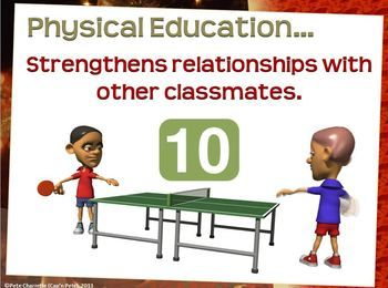 Physical Education the top 10