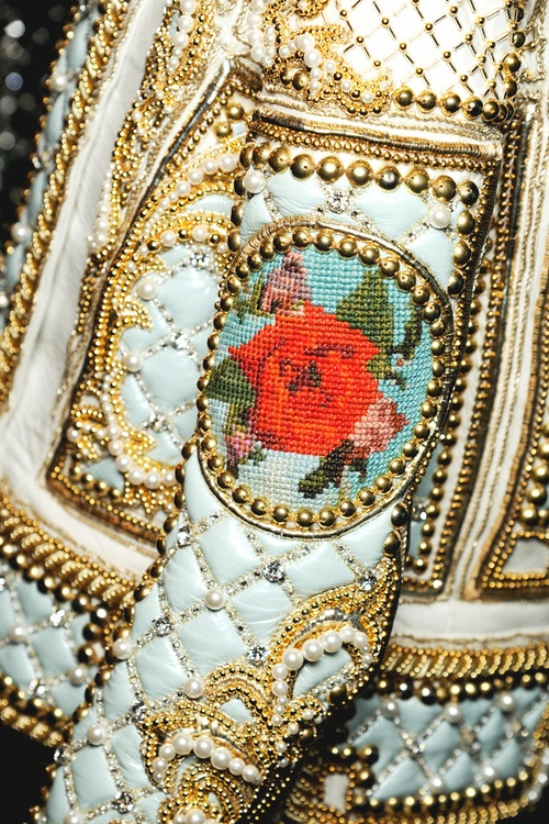 The detail Oliver Rousteing puts into his work is truly astounding.