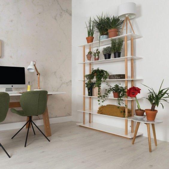 High on wood kast en OMG stoelen groen van Zuiver