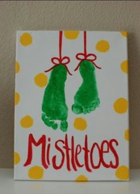 "Mistletoes! So cute! Christmas gifts. You could have a goody bag with spa supplies ""for your mistletoes!"""