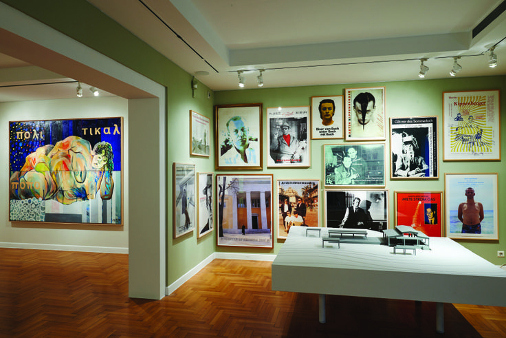 Room 1 | The Archive | Archive of Martin Kippenberger's exhibitions posters and invitations | Photographer: Vanias Xydas