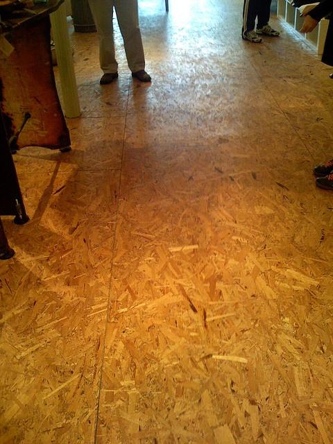 Chip Board Flooring By Postgreen Via Flickr