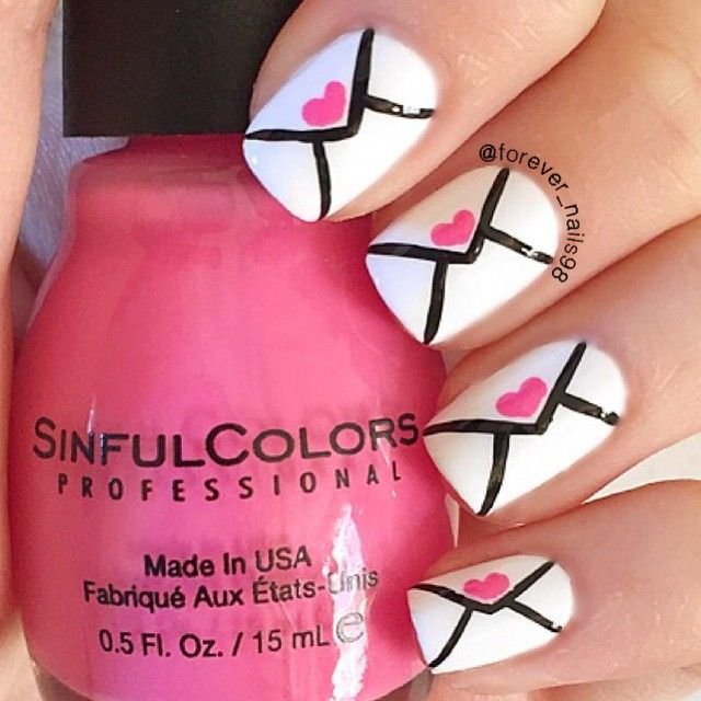 25 Sweet Valentine's Day Nail Art Ideas Every Girl Must See