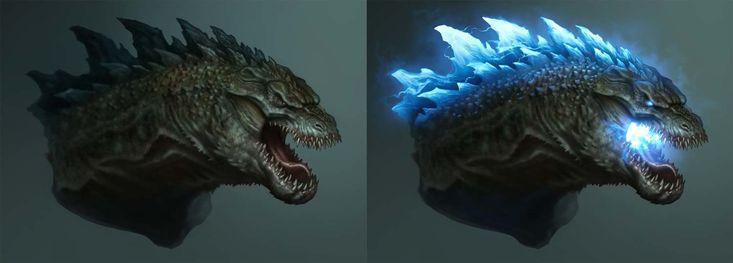 Godzilla , Raul Ramos on ArtStation at https://www.artstation.com/artwork/zXxr4