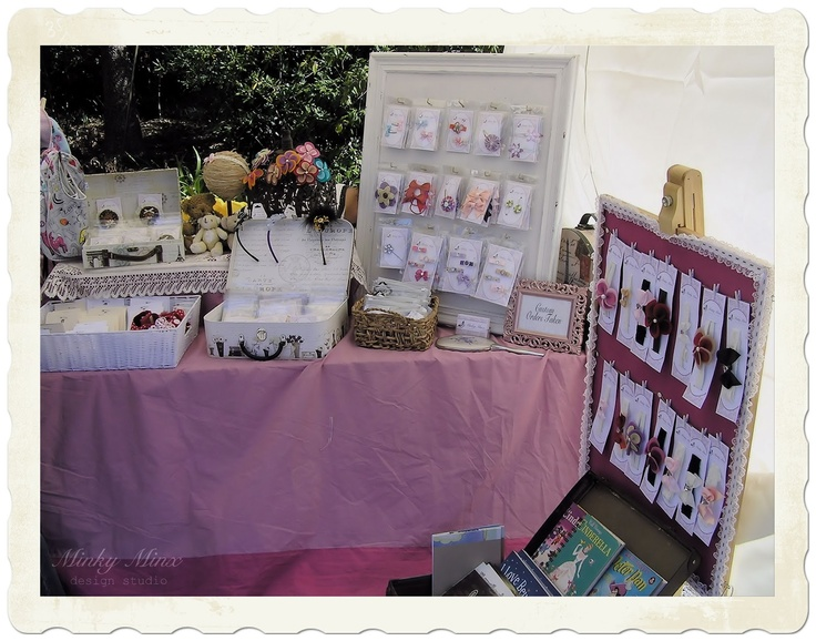 Our shared stall at The Teddy Bear's Picnic at Ripponlea Estate, 2012 || #Melbourne #events #markets #family #kids #stall