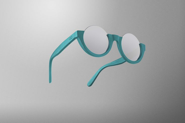 Rockup Turquoise Grey Mirror