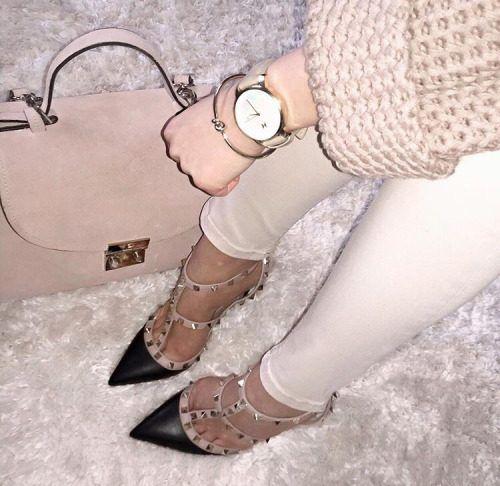 Valentino Rockstuds heels – Just Trendy Girls