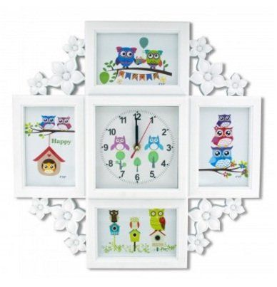Udine Picture Frame with Clock