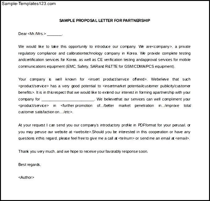 sample business letter intent partnership termination templates - letter of intent partnership