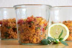 Bulgur-Salat im Glas                                                                                                                                                                                 Mehr