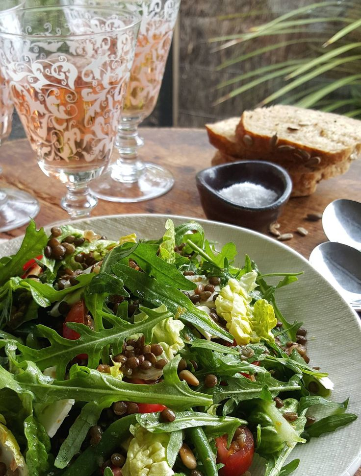 Lentil Salad with Sherry Vinegar Dressing