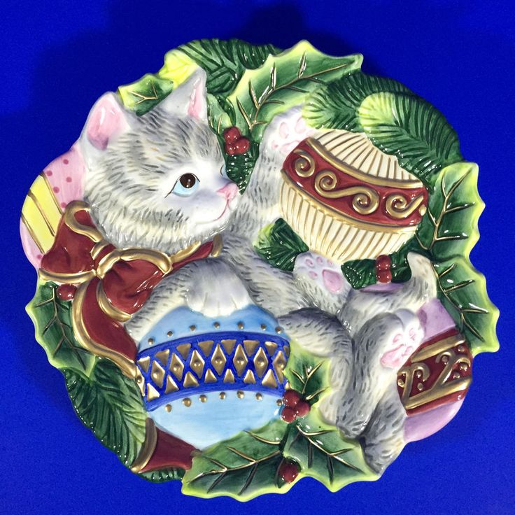 1000 images about tis the season on pinterest christmas for Fitz and floyd canape plate