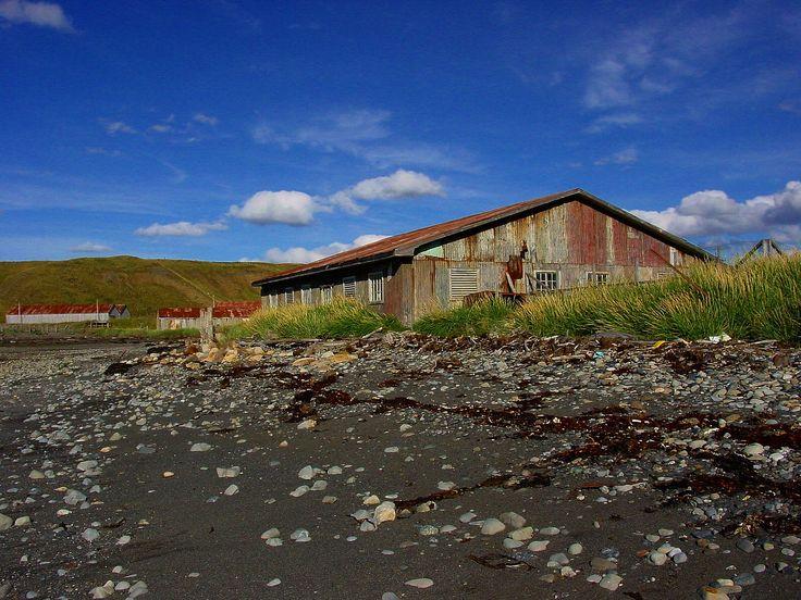 Playa de Cameron, en el Estrecho de Magallanes
