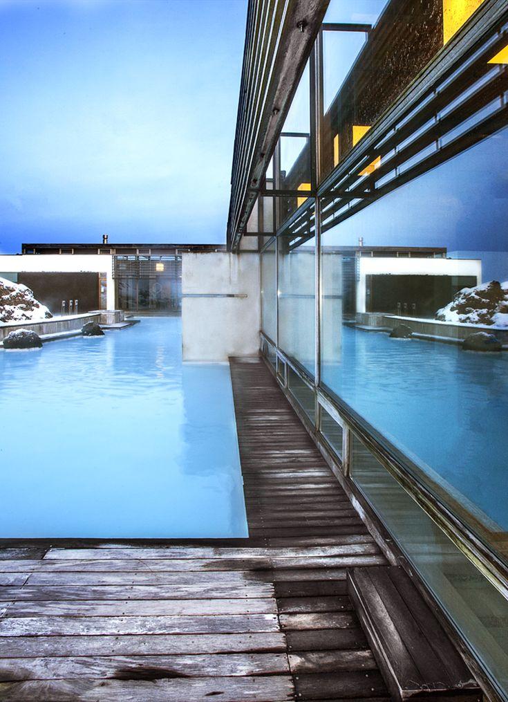 The Blue Lagoon Clinic Hotel, Iceland #chicvilleusa