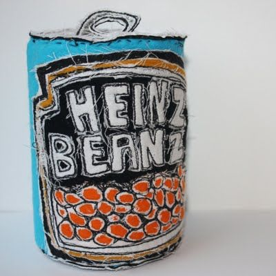 Flippin' 'eck! I made a spaghetti hoop tin as my entrance piece for art college, and that was 30 years ago!