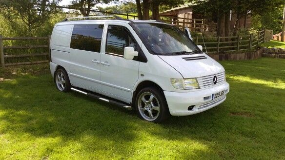 My Mercedes Vito van. Camper conversion.