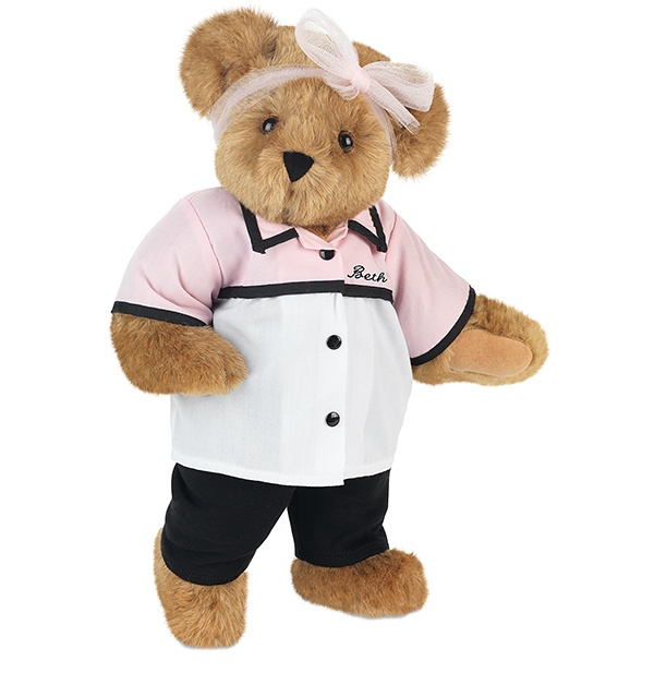 """15"""" Retro Lady from Vermont Teddy Bear. $79.99. #MothersDay"""