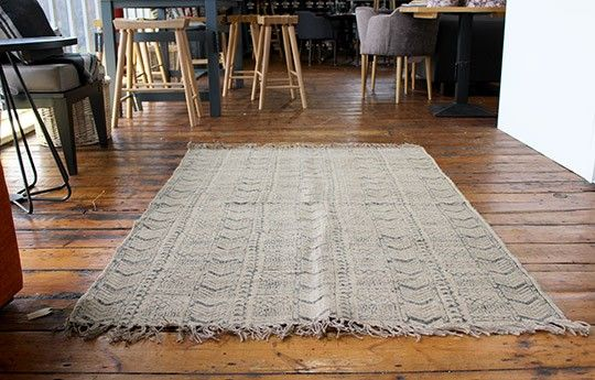 Eni Block Print Rug in Black - WARINGS Store  Available on http://www.waringsathome.co.uk/for-the-home/rugs.html?limit=all