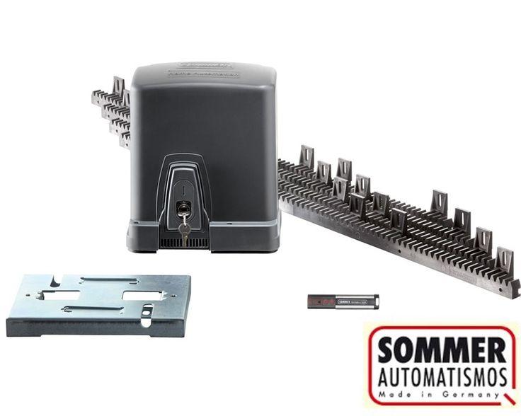 Sommer starter motor para puerta corredera hasta 300 kg for Automatismo puerta corredera