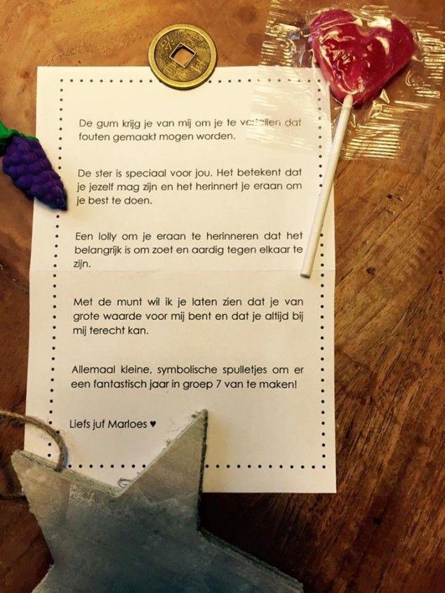 Brief Marloes Wiericx