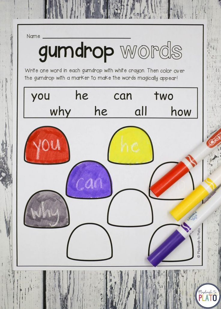 13 sweet Gingerbread Activities Gingerbread activities are always a hit with kids and this batch of literacy and math games is no exception. Pre-K and kindergarten students will love the 13 motivating activities including alphabet puzzles, counting activities, sight word games, graphing sheets, pattern cards, addition and subtraction activities! Perfect way to add some seasonal fun to your literacy centers and math centers! #gingerbreadsightwords #gingerbreadkindergarten #playdoughtoplato