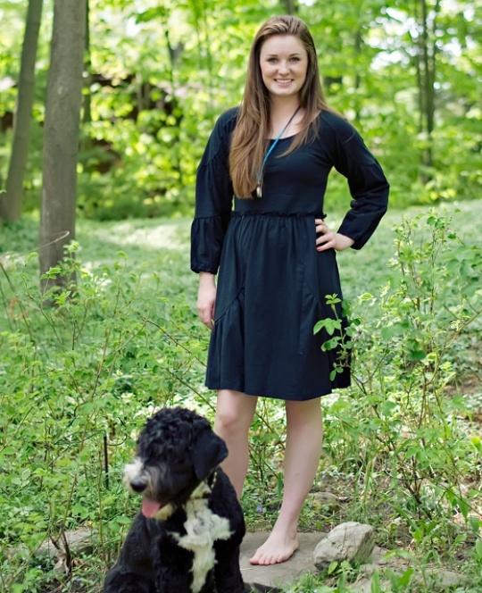 Adult Matilda Jane Clothing CHARLIE DRESS, Black $72  Character Counts Fall 2012
