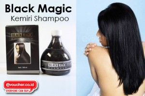 Miliki Rambut Hitam Sehat Berkilau Dalam 4 Minggu Menggunakan Shampoo Black Magic Kemiri Shampoo Hanya Rp.45,000 - www.evoucher.co.id #Promo #Diskon #Jual  Klik > http://www.evoucher.co.id/deal/Rambut-hitam-dengan-Black-Magic-Kemiri-  Black magic kemiri shampoo merupakan shampoo dengan ekstrak kemiri yang menghitamkan, menyehatkan dan menkilaukan rambut indahmu. aman digunakan segala usia.  pengiriman mulai 2013-12-03