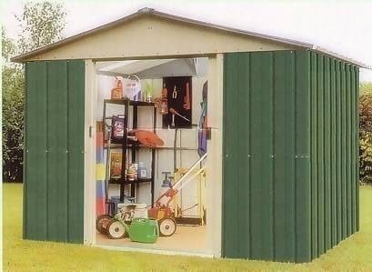 the 87geyz yardmaster metal shed 242 x 217m 711x72 - Garden Sheds 7 X 14