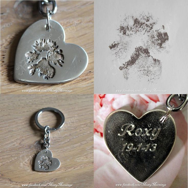 solid silver pawprint www.facebook.com/MistyMornings #Dog #Paw