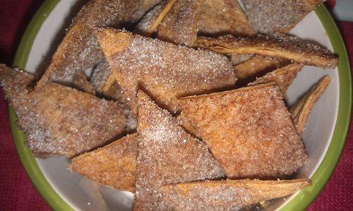 Delicious and simple, Homemade Cinnamon Tortillas justmeregina.com
