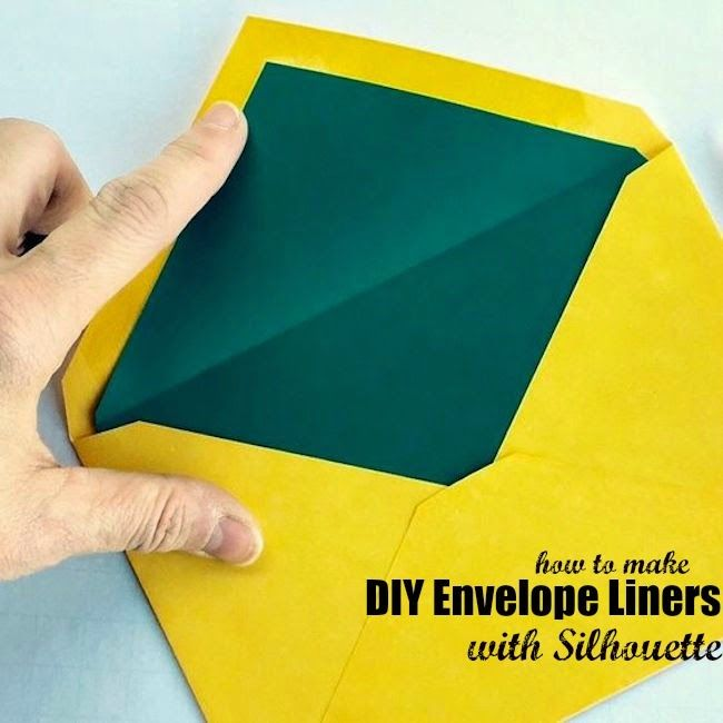 Making Envelope Liners with Silhouette ~ Silhouette School