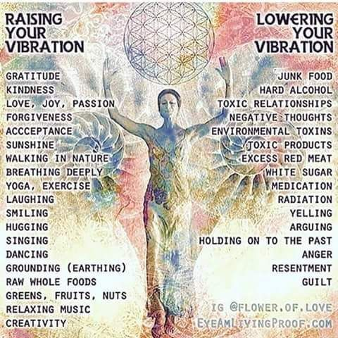 Good vibration is about promoting good health for you!