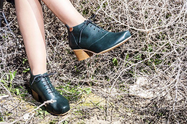 lookbook invierno 2016 - RAY MUSGO Zapatos ecologicos de mujer #verde #green #ecológico #sostenible #zapatos #botines #desierto