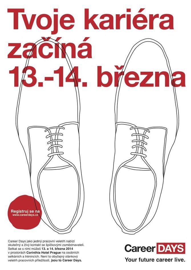 Career Days Campaign Step #3 design: Štěpán Klíma