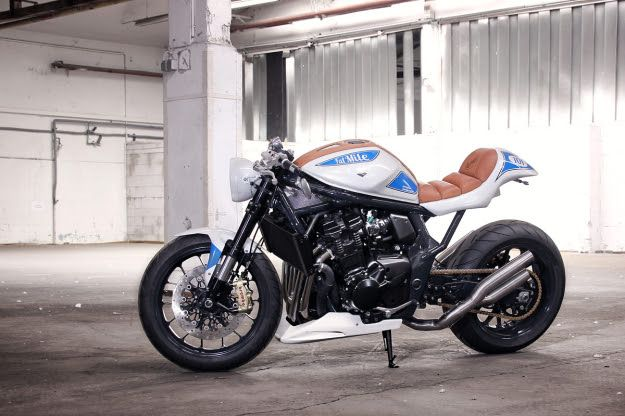 Suzuki Bandit 1250 customized by Daniel Händler and Hans Muth Click to read the full story