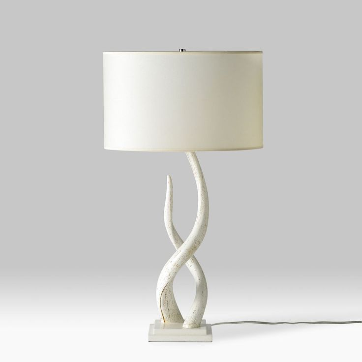 Love this antler lamp from West Elm