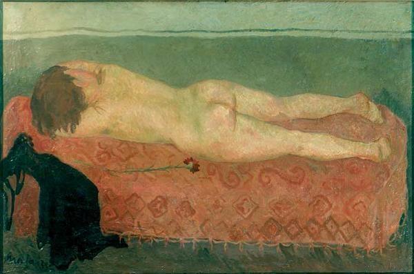 Mario mafai nudo sul divano 1933 gnam di roma pinterest - Sesso sfrenato sul divano ...